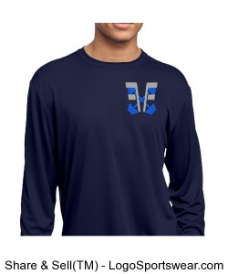 Success Is Key Long sleeve Performance Shirt Design Zoom